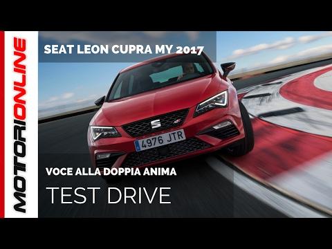 SEAT Leon CUPRA MY 2017 | Test drive in anteprima
