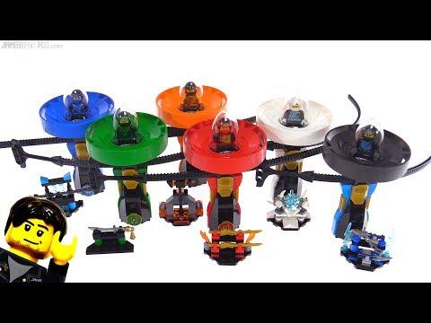 connectYoutube - All six LEGO Ninjago 2018 Spinjitzu Masters sets reviewed!