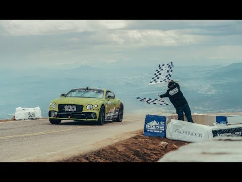 Bentley Continental GT at Pikes Peak International Hill Climb 2019 | Bentley