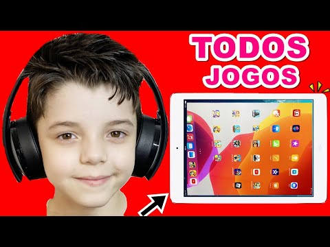 TOUR PELO TABLET DO PIERO START MOSTRANDO TODOS OS JOGOS DE IPAD   Piero Start Games