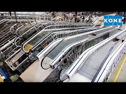 The escalator hub in Kunshan, China