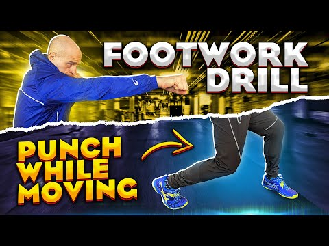 Boxing Footwork: Synchronize Your Punching and Footwork with this Drill