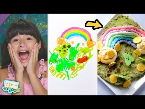 """Can These Chefs Turn A Leprechaun Drawing Into An IRL Dish"""" ?Tasty"""