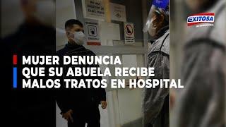 Familiar denuncia que su abuela no puede salir del Hospital y necesita una cama UCI urgente