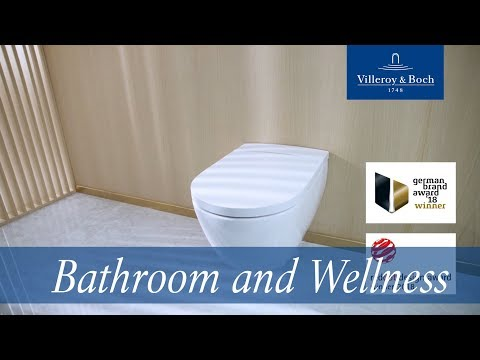 A new definition of wellness - ViClean-I 100 shower-toilet | Villeroy & Boch