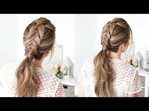 Dutch Fishtail Ponytail | Missy Sue