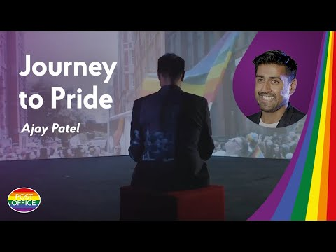 Journey to Pride: Ajay Patel from Post Office shares his story
