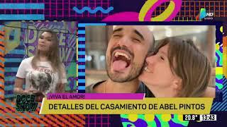 #DOCESHOW: se viene la boda de Abel Pintos y Mili te cuenta los detalles! ????????????????