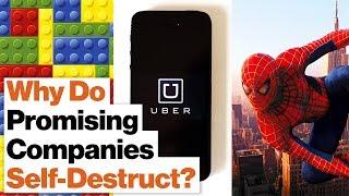 How to Predict a Company Crisis: Uber, Lego, Marvel Comics
