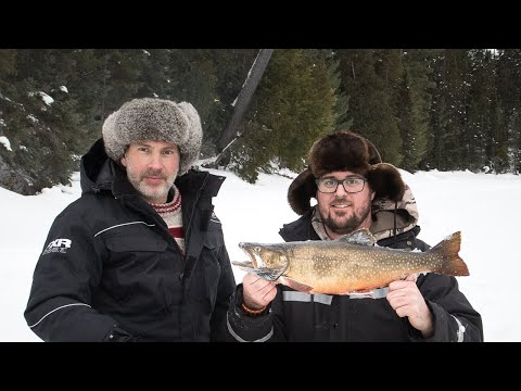 What Canadians Do For Fun in Winter | Ice Fishing, Ski Doo, Tundra Ace