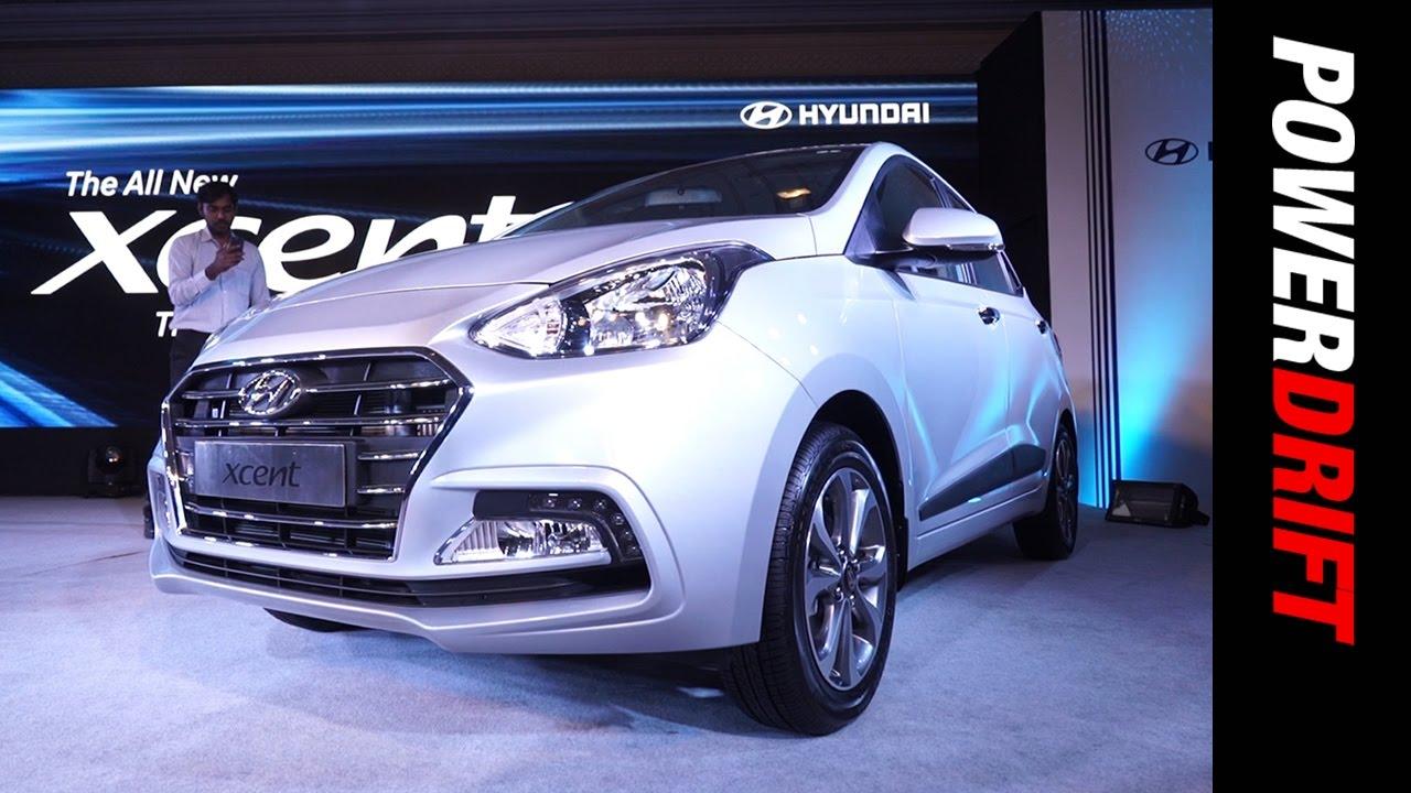 Hyundai Xcent (2017) : First Look : PowerDrift