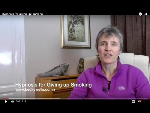 Hypnosis for Giving up Smoking