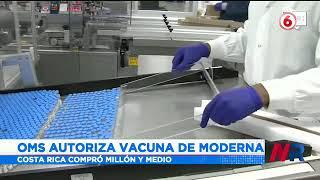 OMS autorizó la vacuna de la casa farmacéutica Moderna