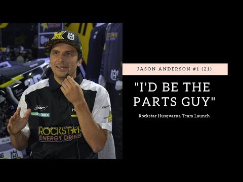 """I would be the parts guy"" Jason Anderson Rockstar Racing Team Intro - Motocross Action Magazine"
