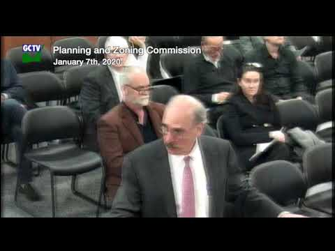 Planning & Zoning Commission, January 7, 2020