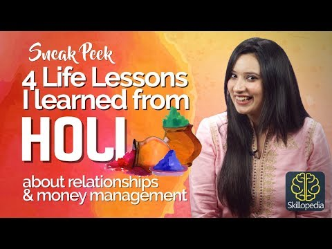 connectYoutube - Life Lessons I learned from the HOLI about Money Management & Relationships – Self-Improvement Video