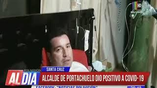 Alcalde de Portachuelo dio positivo a COVID-19