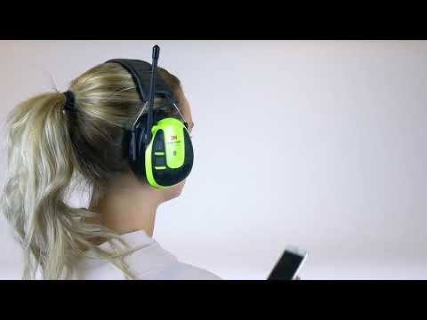 Pairing From Menu   3M™ PELTOR™ WS™ ALERT™ XPI User Instructions   Bluetooth