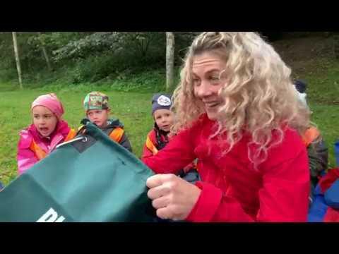 FUS rydder skogen med Cecilie Skog
