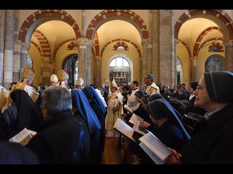11 maggio 2019 Basilica S.Ambrogio: Giubilei di professione religiosa - omelia di mons. Delpini