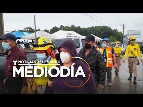 Evacúan a miles de personas en El Salvador por el paso de la tormenta Eta | Noticias Telemundo