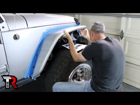No More Plastic Fenders - Poison Spyder Crusher Install