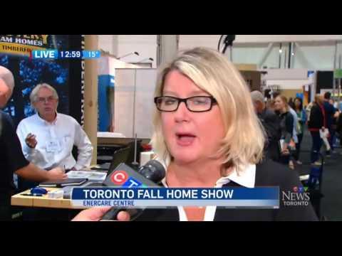 CTV News at Noon at the 2016 Toronto Fall Home Show clip 5