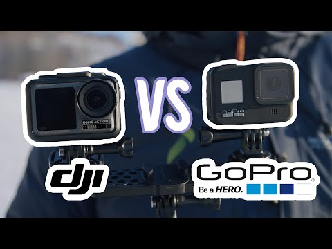 GoPro HERO8 vs. DJI Osmo Action – a Split Screen #Actioncam Comparison
