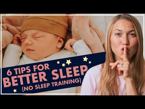 6 Tips for Better Sleep With NO Sleep Training | Wake Windows, Short Naps, Sleep Schedules!