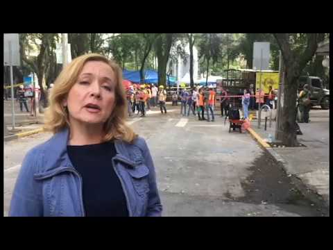 Journal correspondent reports on Mexico earthquake aftermath