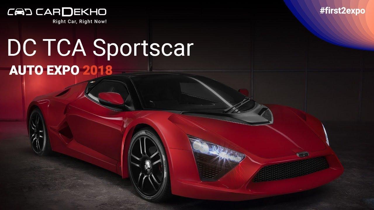 డిసి టిసిఏ sportscar ఎటి ఆటో ఎక్స్పో 2018 | డిసి టిసిఏ మరియు modified థార్ hammer