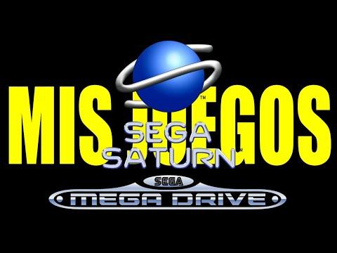 Mis Juegos de Sega Saturn y Megadrive