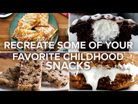 Recreate Some Of Your Favorite Childhood Snacks ? Tasty Recipes