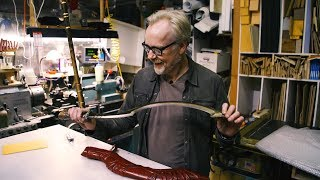 Inside Adam Savage's Cave: Gods of Egypt Stunt Weapons!