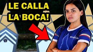 Cecilia Wushu le calla la boca a Casandra - Exatlón México
