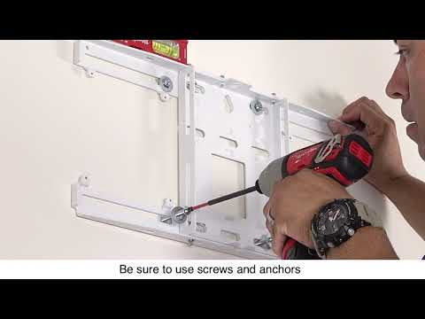 Epson EB-1485Fi Projector Installation Guide #4 - Mount the Wall Plate