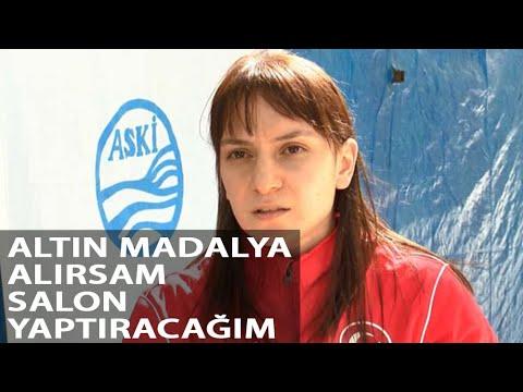 Milli halterci Şaziye Erdoğan: Hem Sporcu Hem Anne Olmak Zor
