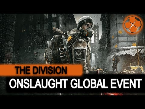 The Division 🔴 Onslaught Global Event | PTS Update 1.8.1 | PC Gameplay 1080p 60fps