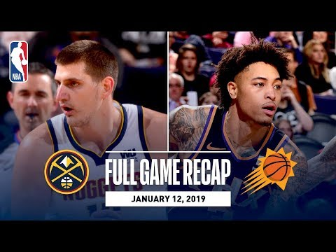 Full Game Recap: Nuggets vs Suns | Oubre & Ayton Notch Double-Doubles