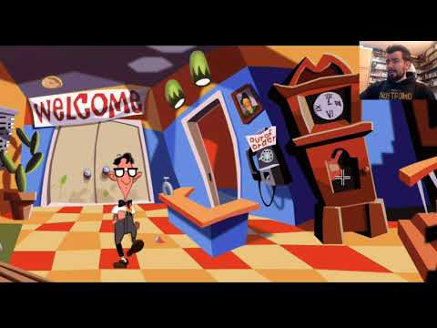 DAY OF THE TENTACLE REMASTERED (PC) - Gameplay en Español    EVENTO HALLOWEEN 2020