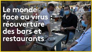 #restaurant #bar Tous en terrasse  L'Italie, le Liban, la Belgique et le Royaume-Uni se déconfinent