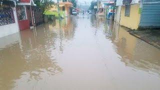 Lluvias no han creado inundaciones en la prov. Duarte