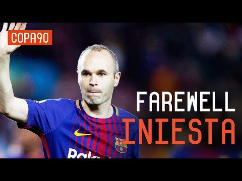 Barcelona's Emotional Farewell To Andrés Iniesta