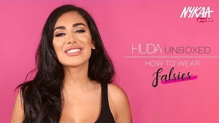 Huda Unboxed: How To Wear Falsies