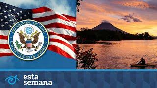 """Estados Unidos recomienda """"no viajar"""" a Nicaragua"""
