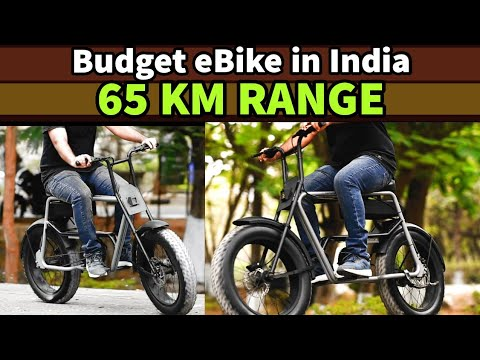 Budget eBike in India with Lithium ion Battery - Forty Five