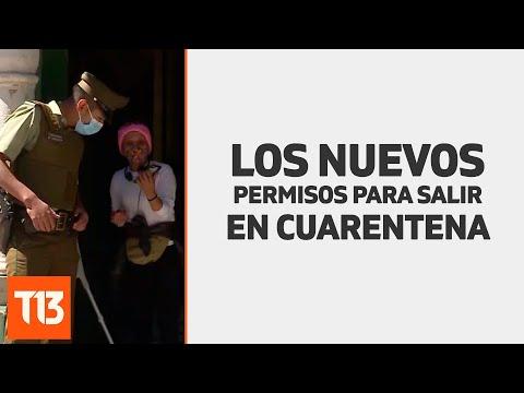 Los cambios en los permisos para salir en cuarentena