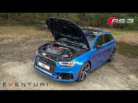 Stage 3 Eventuri Carbon Intake for Audi RS3 8V Sportback - LOUD Intake Sounds, Accelerations & Revs