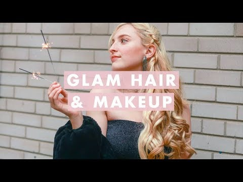 Holiday Glam Hair & Makeup l Luxy Office Party