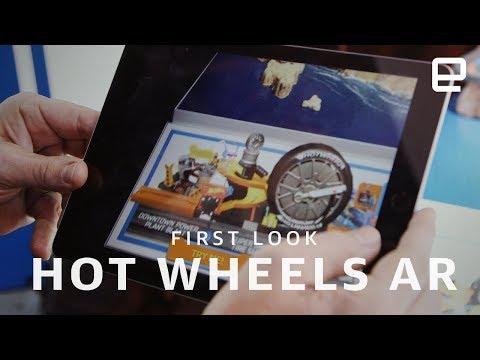 Hot Wheels City AR Demos first look